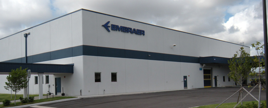 Embraer Aircraft Corp – New Warehouse Building